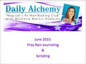 prayrainjournalingandscripting