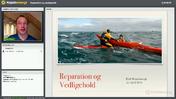 Webinar - Reparation og Vedligehold