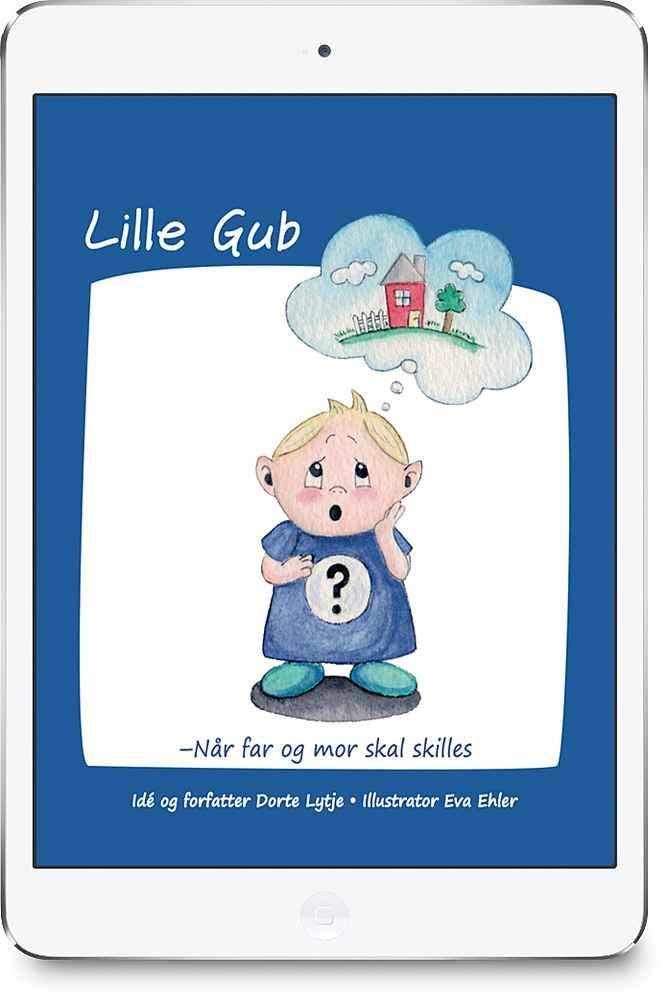 Lille Gub E-bog + Print-selv malebog