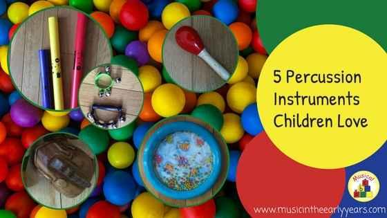 5 Percussion Instruments Children Love