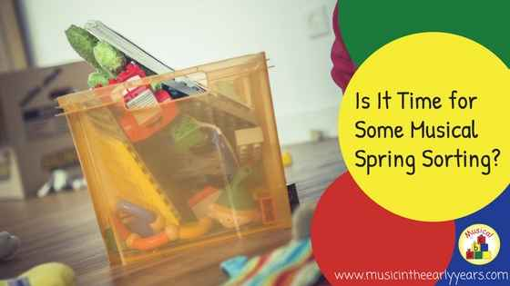 Is It Time for some Musical Spring Sorting-