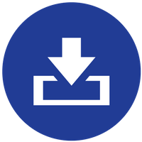Blue Download icon.png