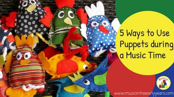 5 Ways to Use Puppets during a Music Time