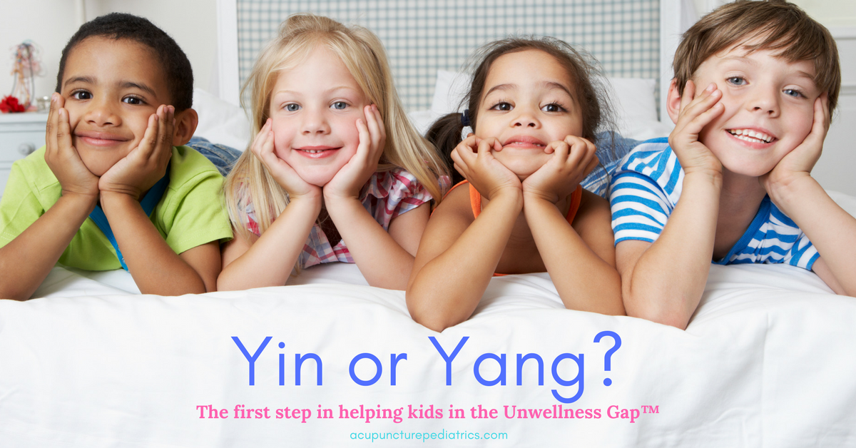 Healing the Unwellness Gap™ Step 1: Is your patient yin or yang?