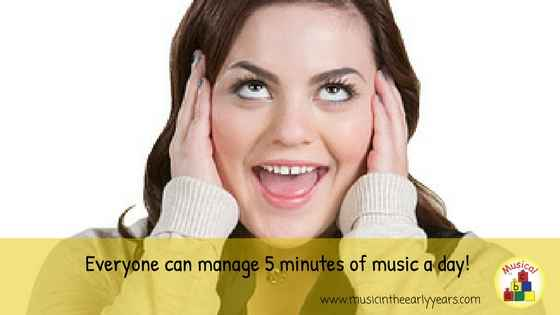 Everyone can manage 5 minutes of music a (1)