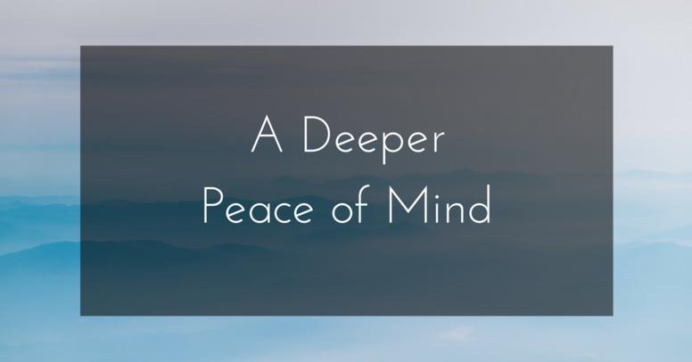 A Deeper Peace of Mind - USD