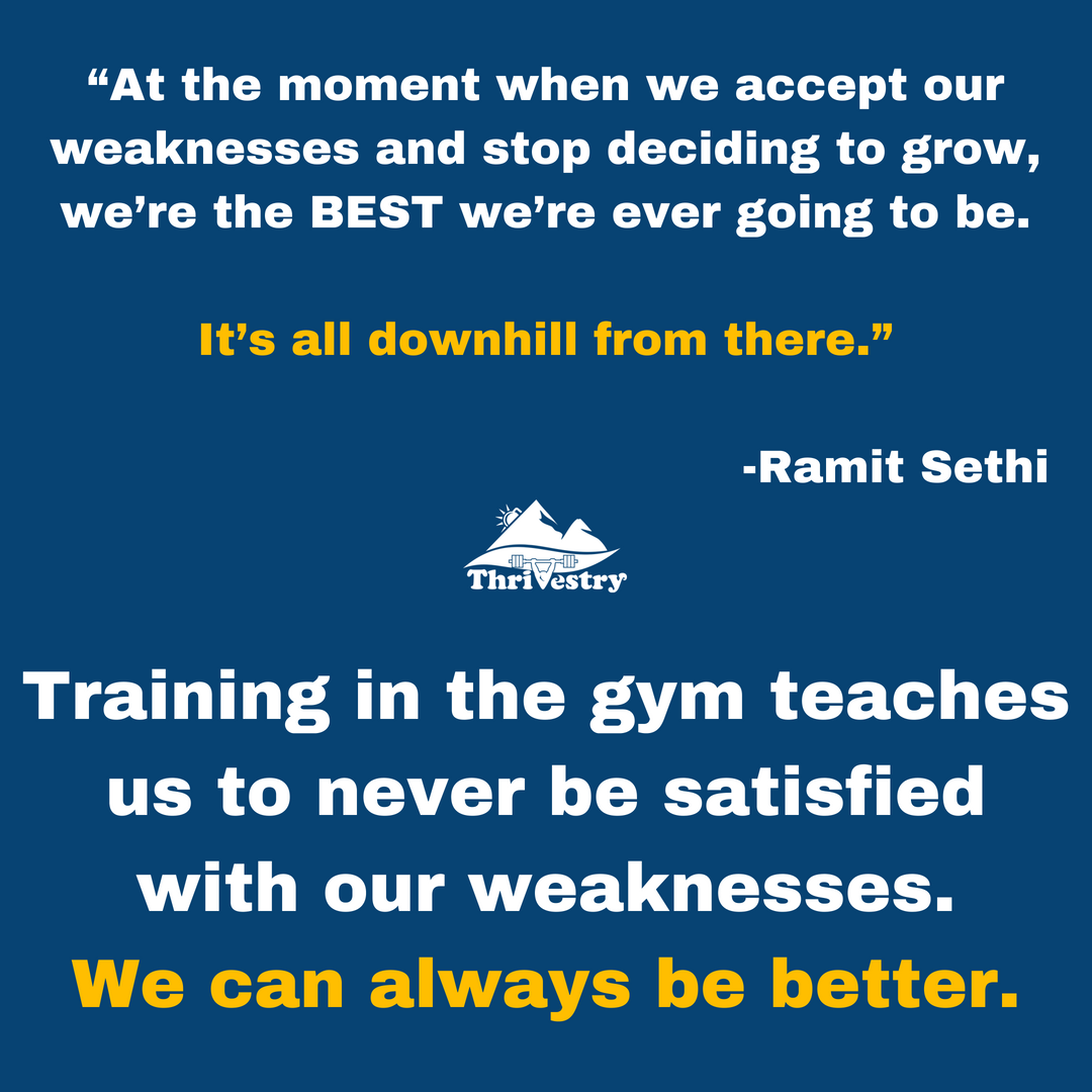 """At the moment when we accept our weaknesses and stop deciding to grow, we're the BEST we're ever going to be. It's all downhill from there."" -Ramit Sethi.png"