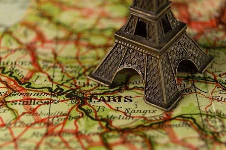 Image | Blog | Blank Image Map Of France