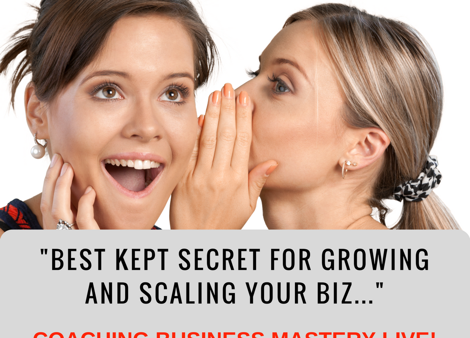 Image | CBM LIVE | Pilot | Best Kept Secret for Growing and Scaling Your Biz