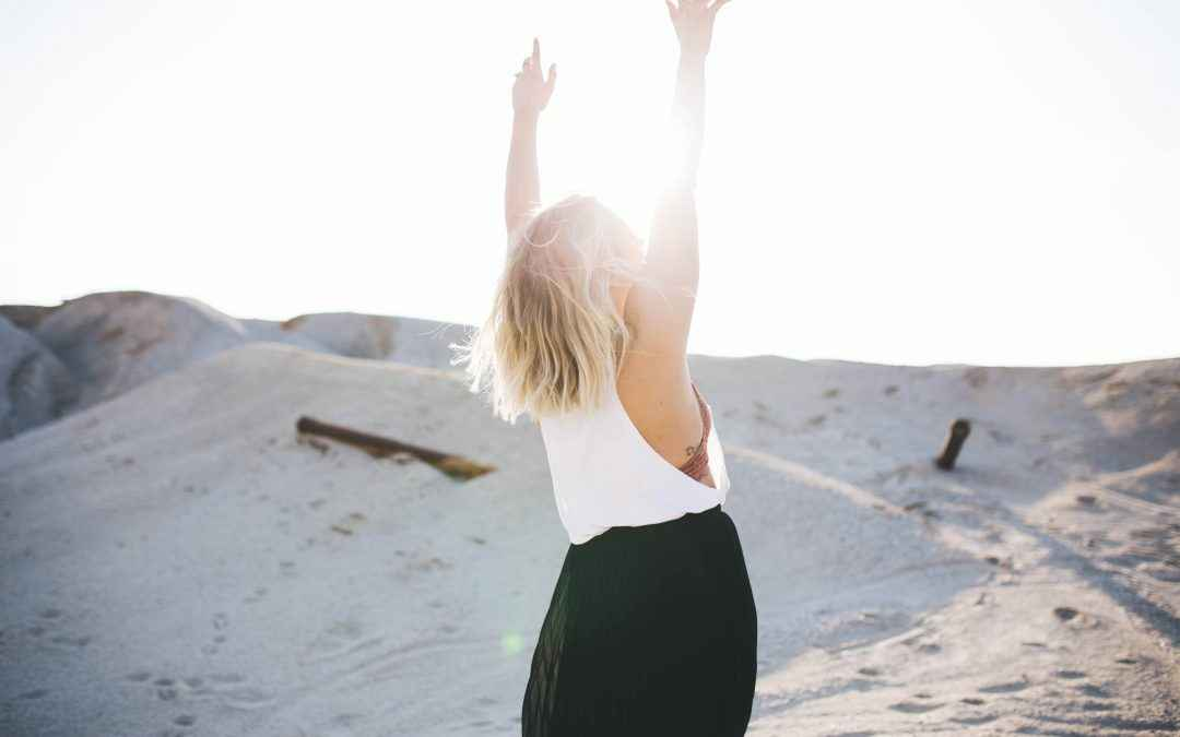 Image | Blog | Blank Image Woman Throwing Arms Up