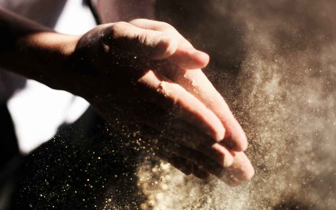 Image | Blog | Blank Image Hands With Dust
