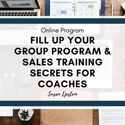 Image | Program | Fill Up Your Group Program & Sales Training Secrets For Coaches