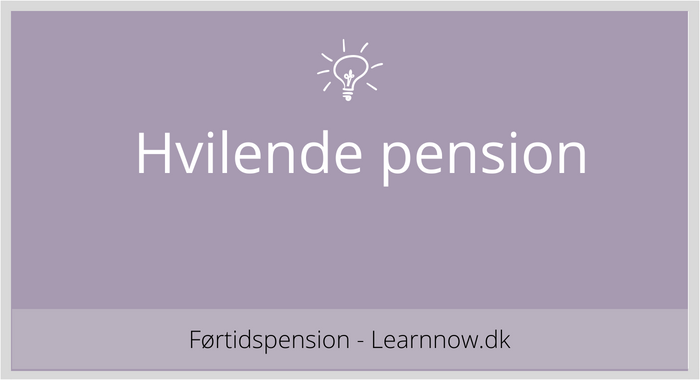 Hvilende pension