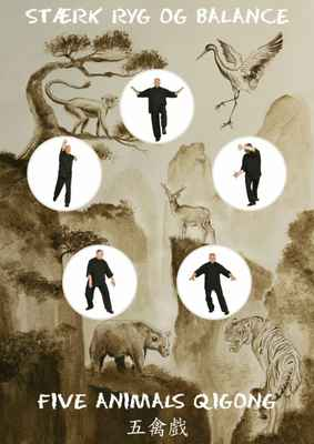 Five Animals Qigong - E-bog