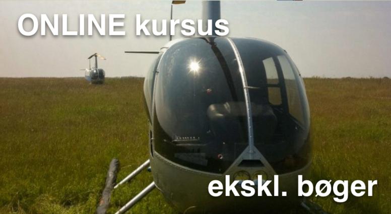 Privatflyvercertifikat helikopter