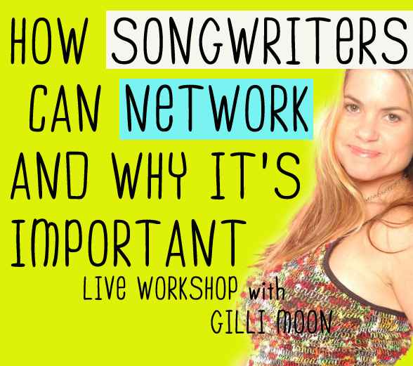 How Songwriters Can Network - Webinar