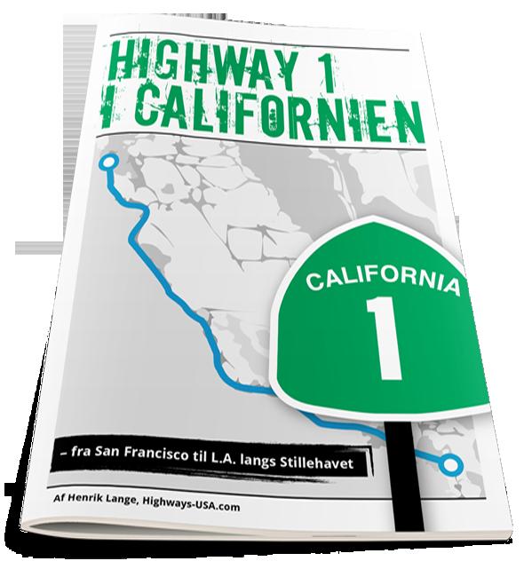 E-bog om Highway 1 i Californien på dansk