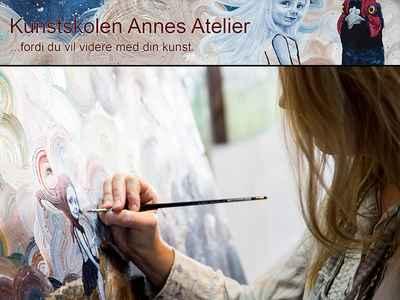 Kunstskolen Annes Atelier - løbende 1 måneds medlemskab