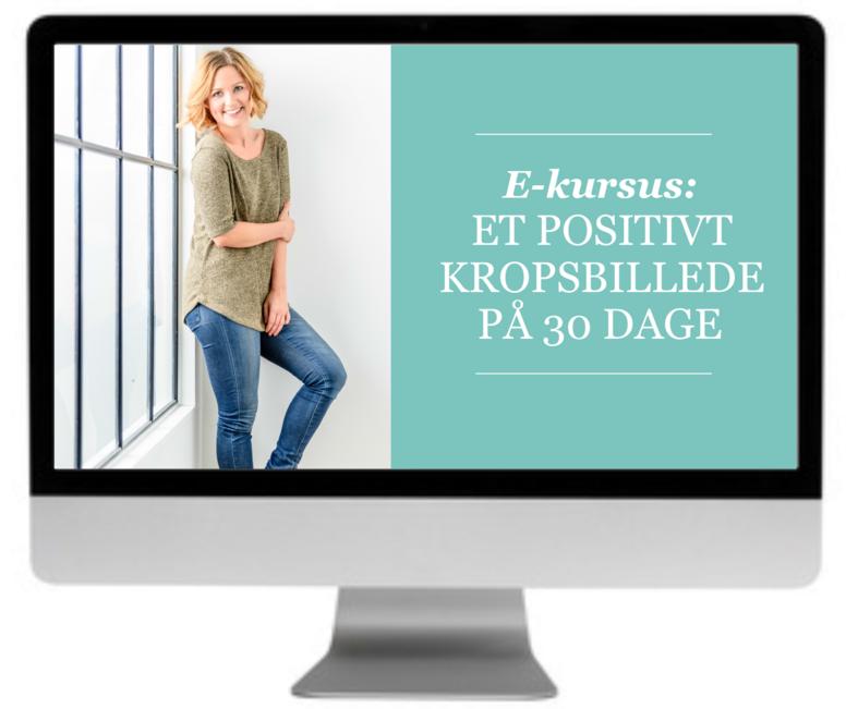 E-kursus: Et positivt kropsbillede på 30 dage