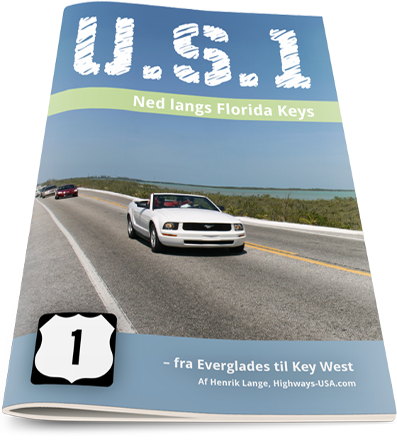 E-bog og guide til Florida Keys på dansk