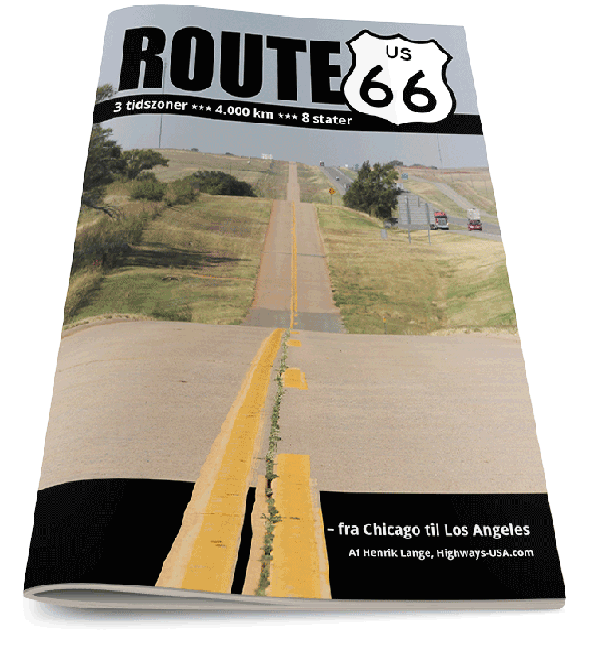 Route 66 fra Chicago til Los Angeles - stat for stat