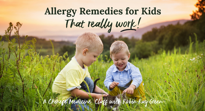 Allergy Remedies for Kids that Really Work!
