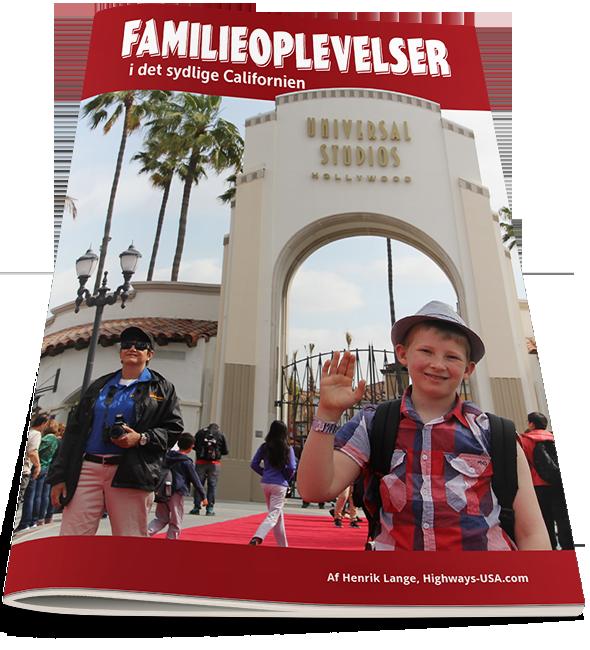 Familieferie og forlystelser i det sydlige Californien