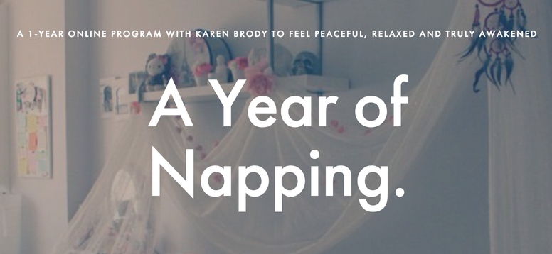 A Year of Napping