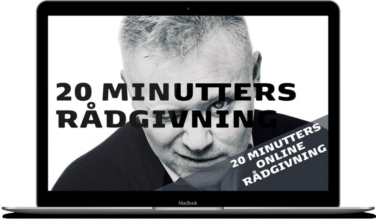 20 MINUTTERS GRATIS VIDEORÅDGIVNING