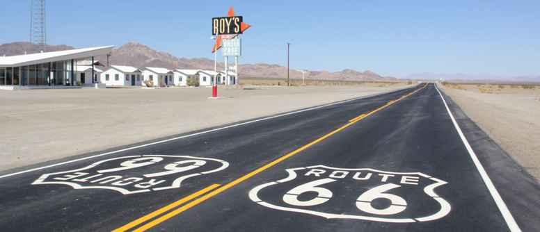 Videoforedrag om Route 66 fra Chicago til Los Angeles