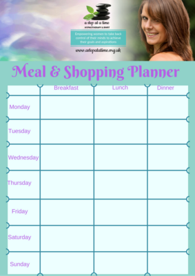 FREE Food and Shopping Planner