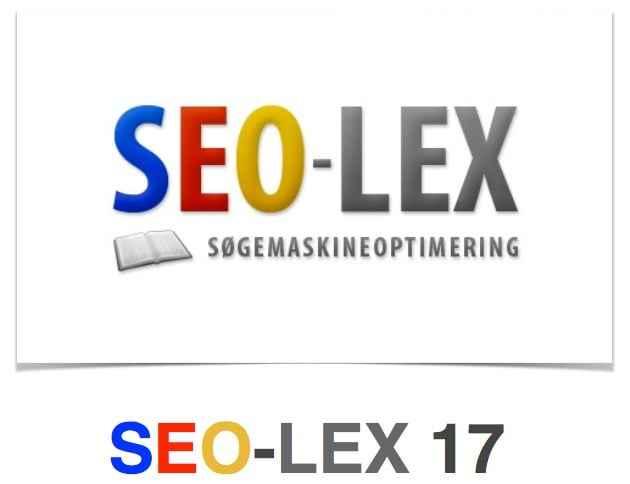 SEO-LEX17 som e-Pub
