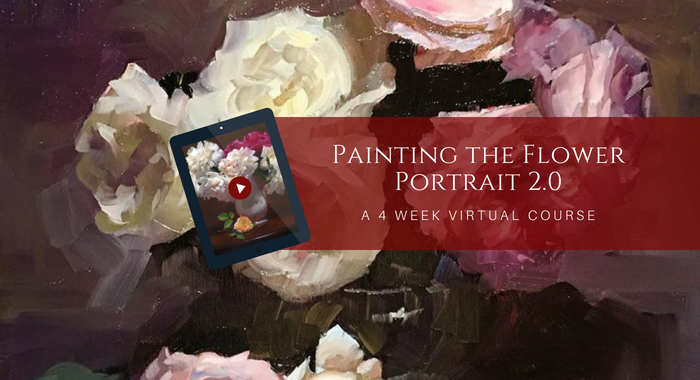 Painting the Flower Portrait 2.0