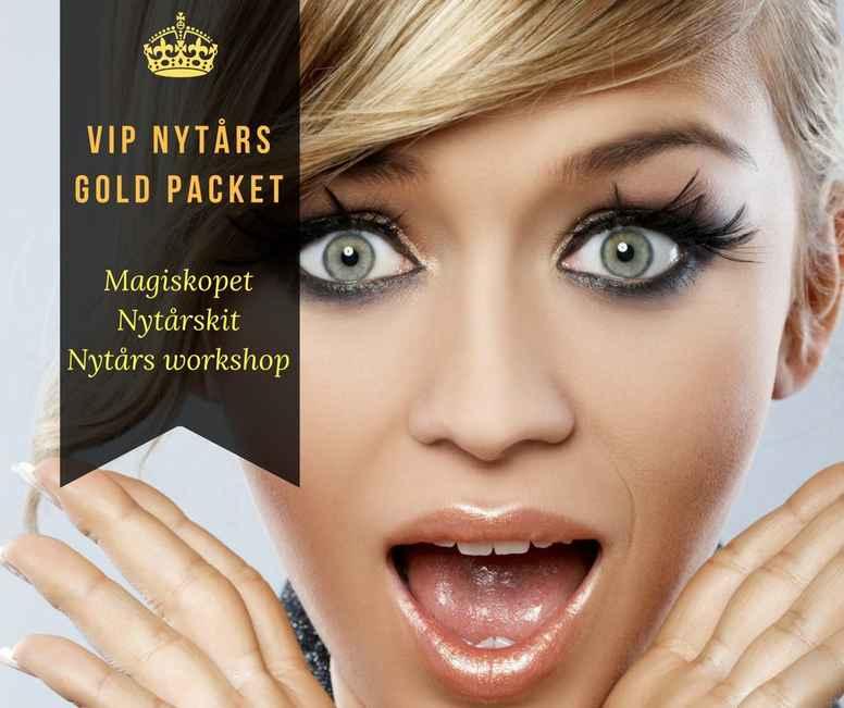 VIP NYTÅRS GOLD PACKET