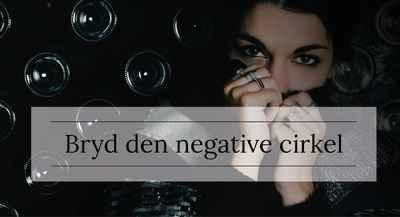 Bryd den negative cirkel
