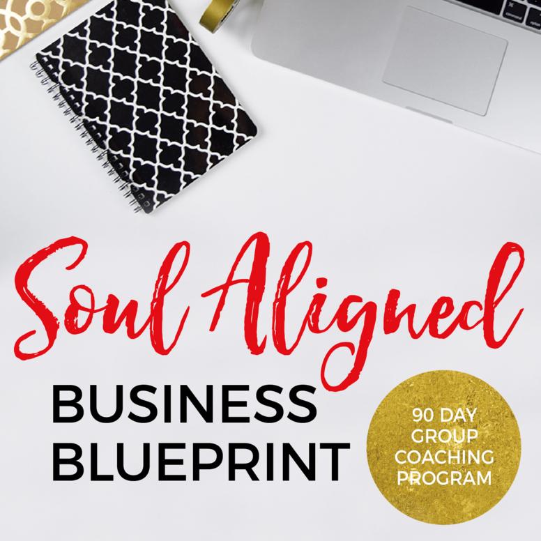Soul Aligned Business Blueprint 90 Day Program