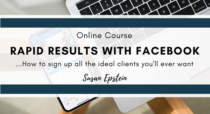 Rapid Results with Facebook