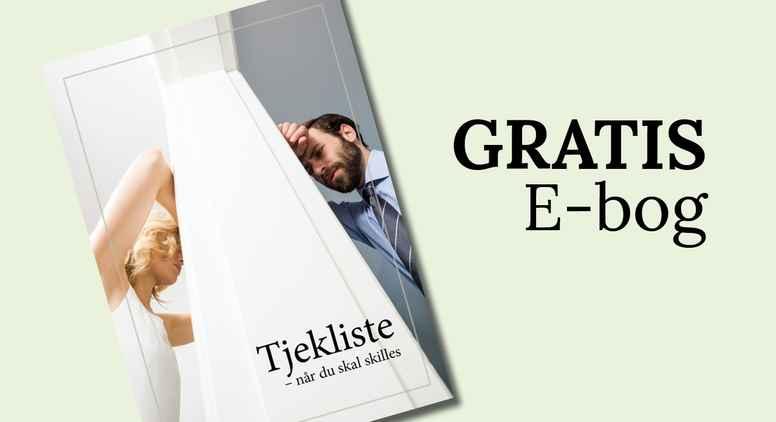 GRATIS E-bog: Skilsmisse tjekliste