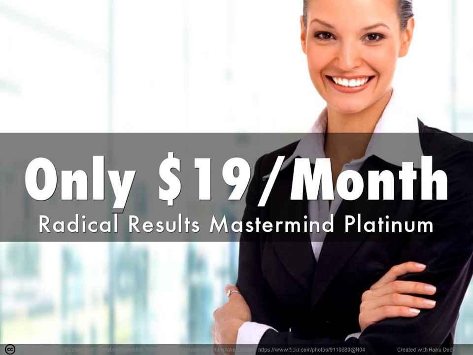 Radical Results Mastermind Platinum
