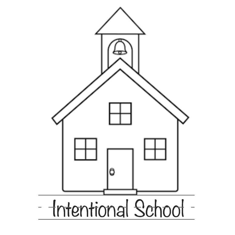 Intentional School Goals Organizer