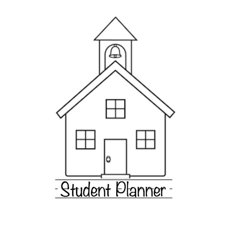 Intentional School Student Planner