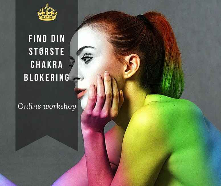 Find din største chakra-blokering - workshop