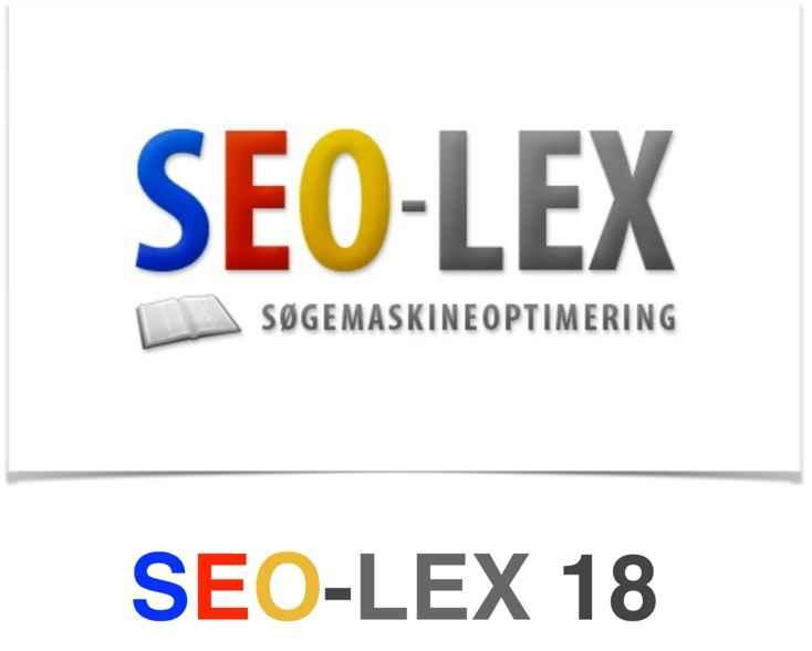 SEO-LEX 18 som ePub
