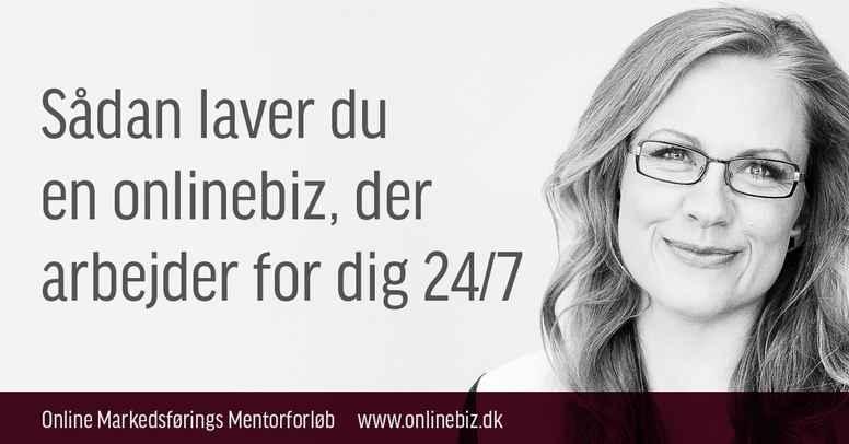 Online Markedsførings Mentor Forløb - Hold 12