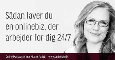 Online Markedsførings Mentor Forløb - Hold 11