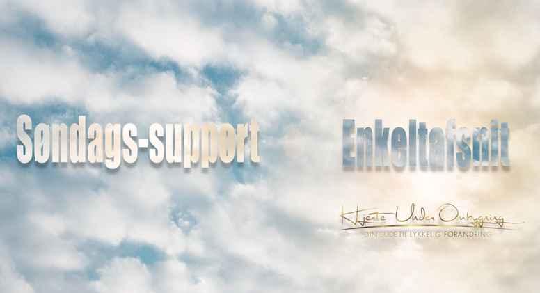 ❤Søndags-support ❤ Enkeltafsnit fra d. 7/1-2018 - Lydfil