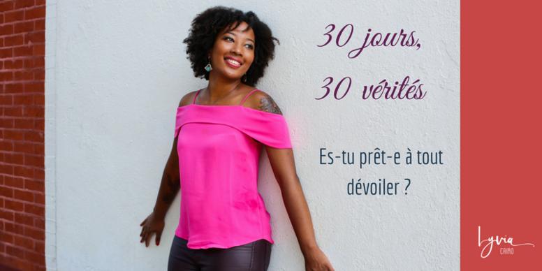 30 jours - 30 vérités
