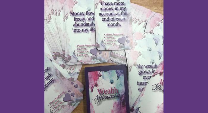 Wealth Affirmation Cards