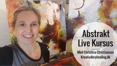 UDSOLGT Livekursus Abstrakt - Daring greatly! 2. 3. Juni