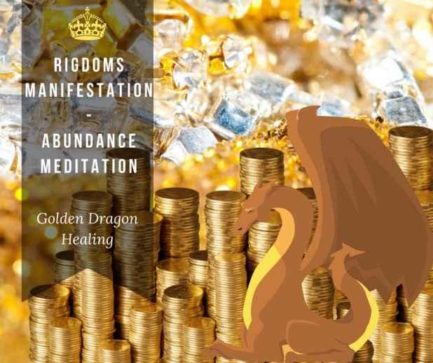 Golden Dragon healing - Rigdomsmanifestation